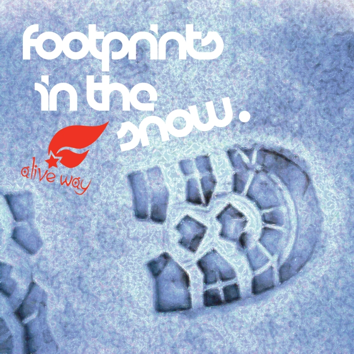 Footprints in the snow COVER
