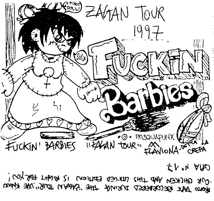 Fucking Barbies - Zagan Tour