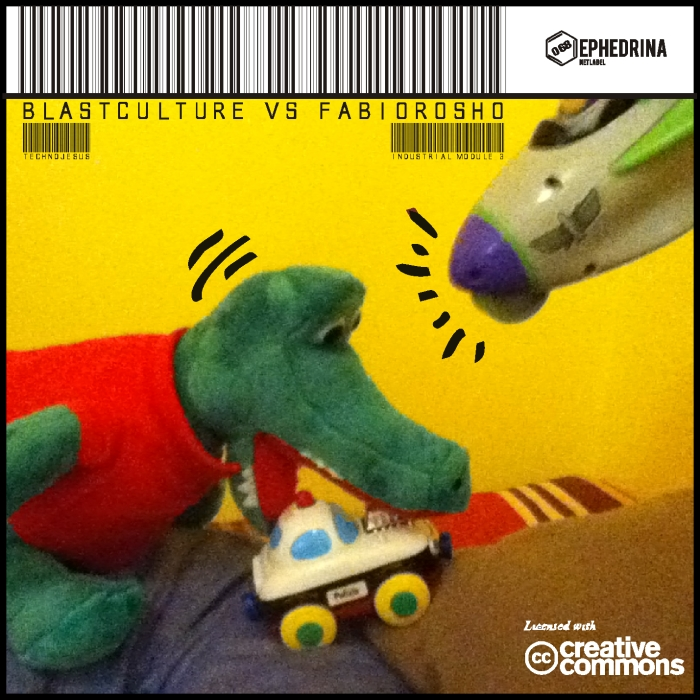 BLASTCULTUREvsFABIOROSHO - Technojesus EP cover