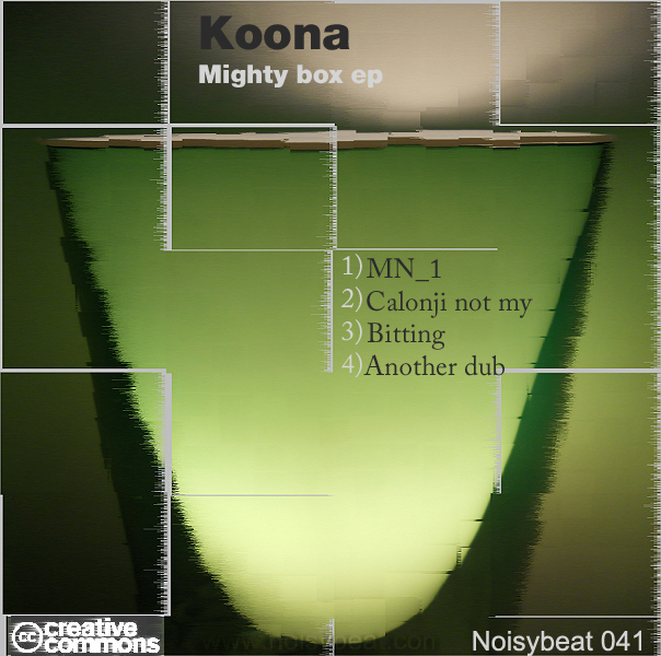 Cover(koona - Mighty box ep)