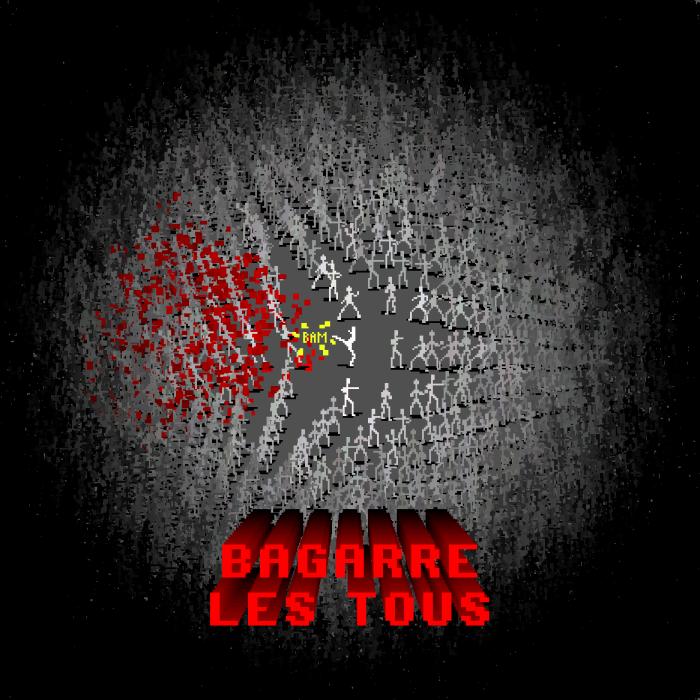 Dataglitch - Bagarre les tous - cover