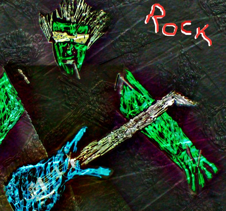 ROCK ALBUM COVER ART