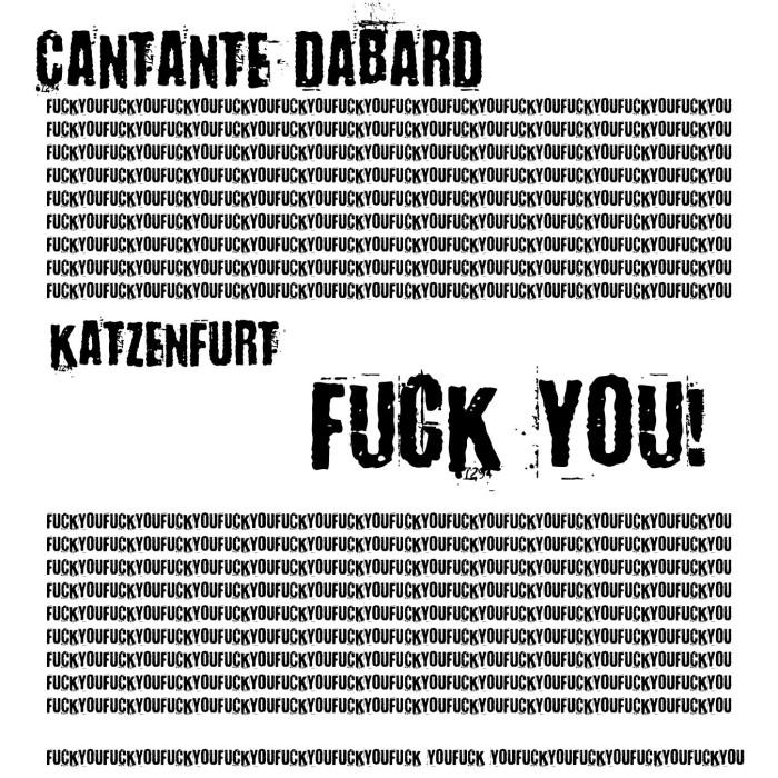 copertina katzenfurt fuck you